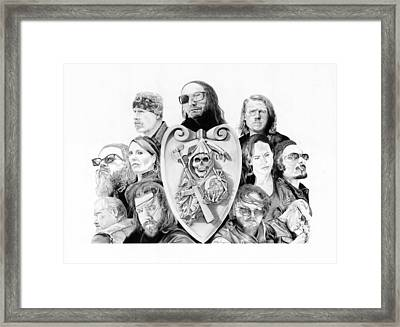 The Reaper Crew Framed Print by Keith Larocque