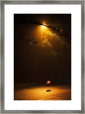 The Red Balloon Framed Print by Svetlana Sewell