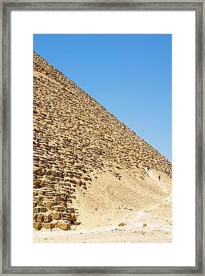 The Red Pyramid At Dashur, Or Senefru Framed Print by Nico Tondini