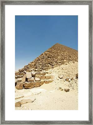 The Red Pyramid At Dashur, Senefru Or Framed Print by Nico Tondini