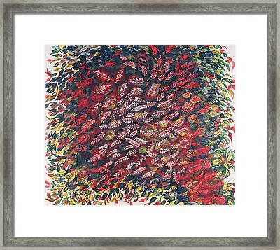The Red Tree Framed Print by Seraphine Louis