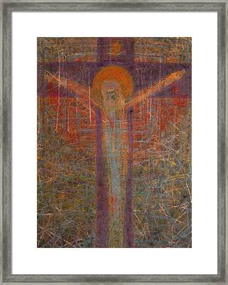 The Redeemer Framed Print by Adel Nemeth