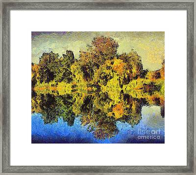 The Reflections Framed Print by Odon Czintos