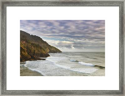 The Remote Coast Framed Print by Andrew Soundarajan