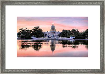 The Republic Awakens Framed Print by JC Findley