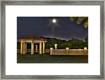 The Resort At Marina Village Framed Print by Ash Sharesomephotos