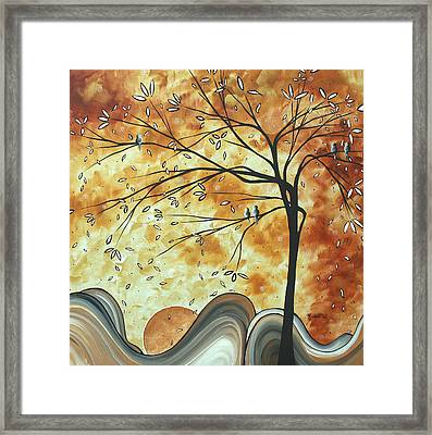 The Resting Place By Madart Framed Print by Megan Duncanson