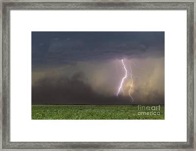 The Restless Earth Framed Print by Ryan Smith