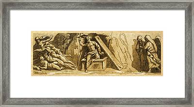 The Resurrection Framed Print by Aged Pixel