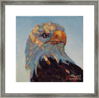 The Return Framed Print by Patricia A Griffin
