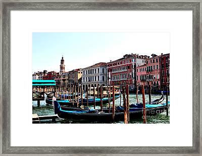 The Ride Venice Italy Framed Print by Tom Prendergast