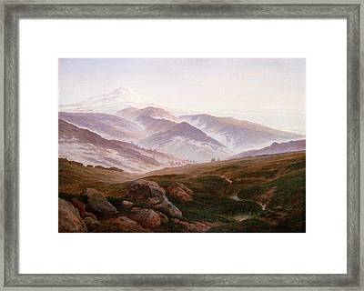 The Riesengebirge  Framed Print by Philip Ralley