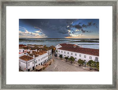 The Rio Formosa Framed Print by English Landscapes
