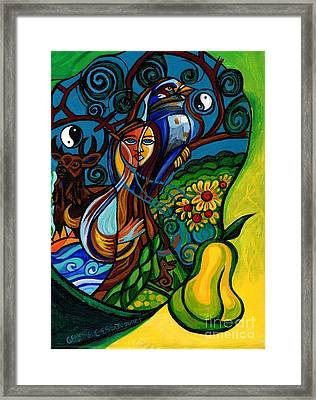 The Rite Of Spring Framed Print by Genevieve Esson