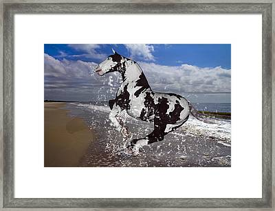 The Rite To Freedom Framed Print by Betsy C Knapp