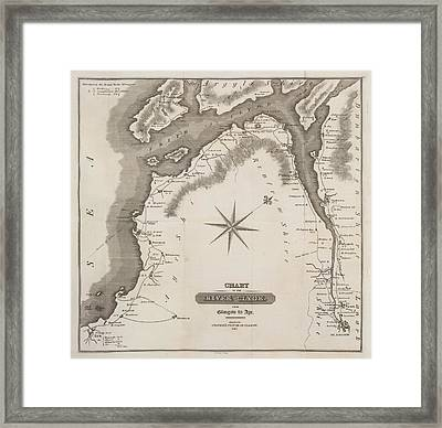 The River Clyde Framed Print by British Library