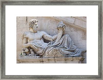 The Tiber Framed Print by Ellen Henneke