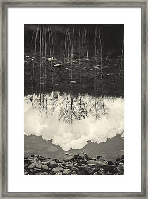The River I Framed Print by Marco Oliveira