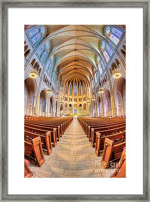 The Riverside Church I Framed Print by Clarence Holmes