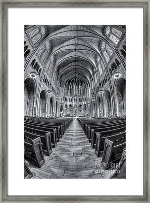 The Riverside Church II Framed Print by Clarence Holmes