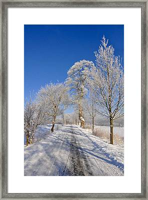 The Road Framed Print by Aged Pixel