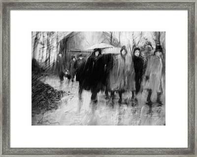 The Road Framed Print by H James Hoff