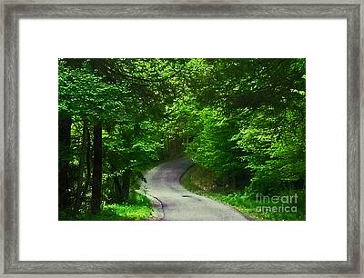 The Road Framed Print by Katherine Williams