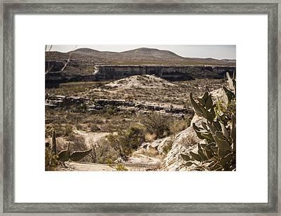 The Road Less Traveled Framed Print by Amber Kresge