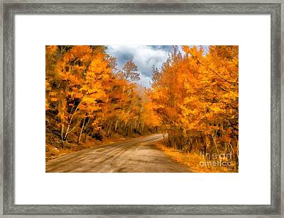 The Road Less Traveled Framed Print by Jon Burch Photography