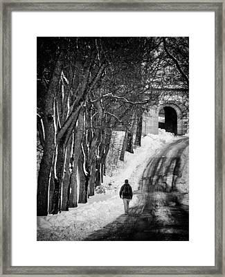The Road Framed Print by Stelios Kleanthous