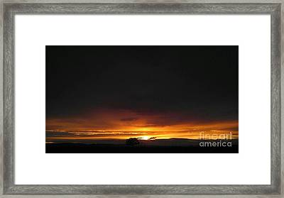 The Roadhouse Framed Print by Justin Moranville