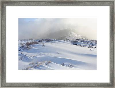 The Roan Highlands In Winter Framed Print by Keith Clontz