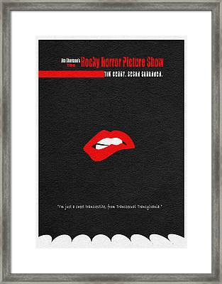 The Rocky Horror Picture Show Framed Print by Ayse Deniz