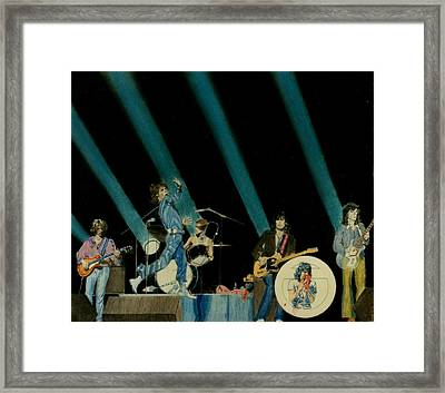 The Rolling Stones - Rip This Joint Framed Print by Sean Connolly