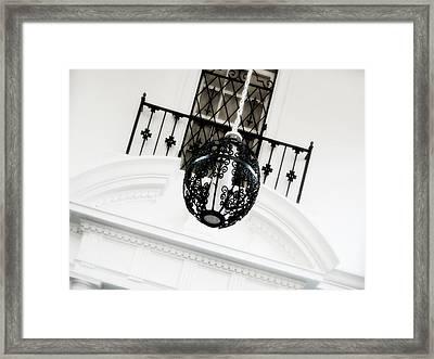 The Room Framed Print by Julie Palencia