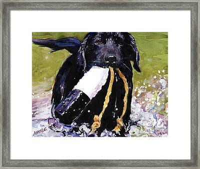 The Ropes Framed Print by Molly Poole