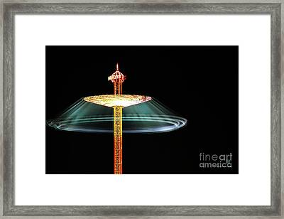 The Rotating Skirt Framed Print by Hannes Cmarits
