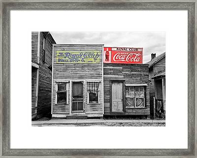 The Royal Club Framed Print by Russell Lee