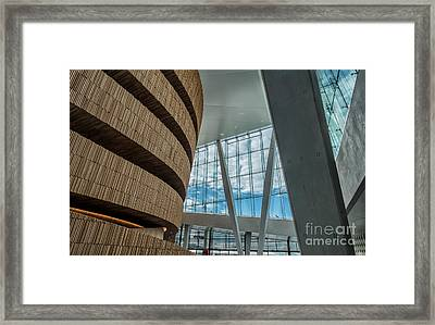 The Royal National Opera House  Interior In Oslo Norway Framed Print by Frank Bach