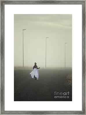 The Runnaway Bride Framed Print by Evelina Kremsdorf