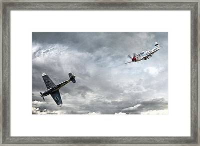 The Rush Framed Print by Peter Chilelli