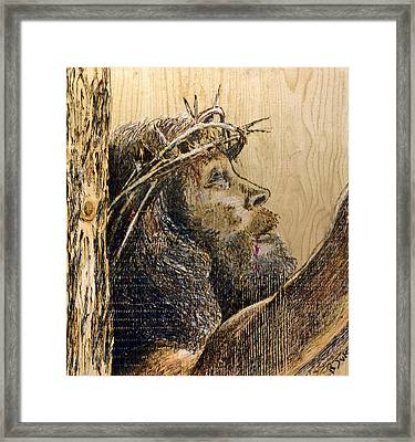 The Sacrifice Framed Print by Richard Jules