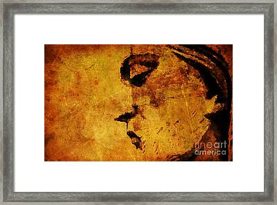 The Sadness In Humanity Framed Print by Mike Grubb