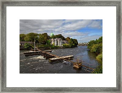 The Salmon Weir On The River Framed Print by Panoramic Images