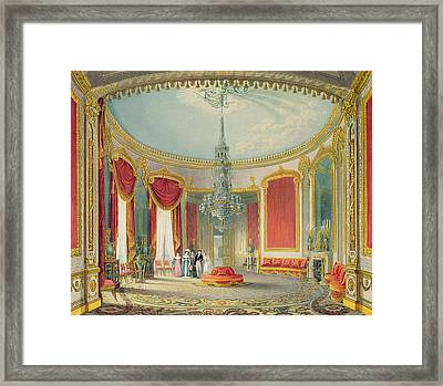 The Saloon In Its Final Phase Framed Print by John Nash