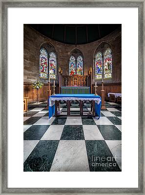The Sanctuary Framed Print by Adrian Evans