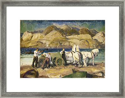 The Sand Cart Framed Print by Celestial Images