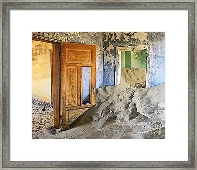 The Sands Of Time Framed Print by Timm Chapman
