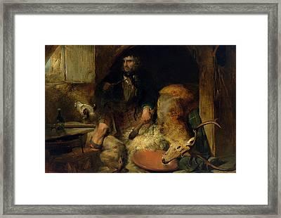 The Savage Framed Print by Sir Edwin Landseer