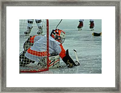 The Save Framed Print by David Rucker